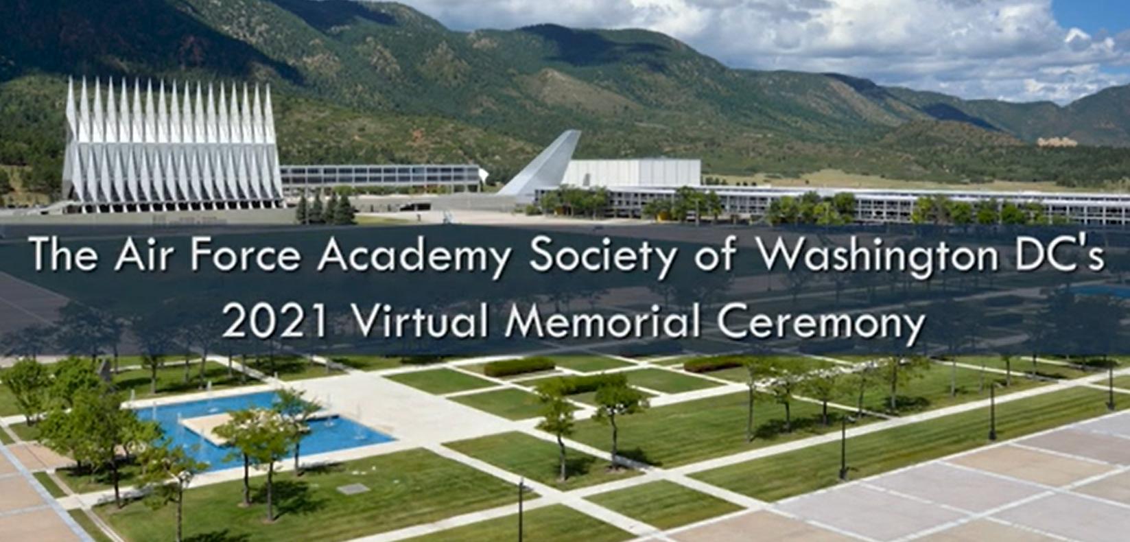Image for Air Force Academy Society of Washington DC - 2021 Virtual Memorial Ceremony webinar