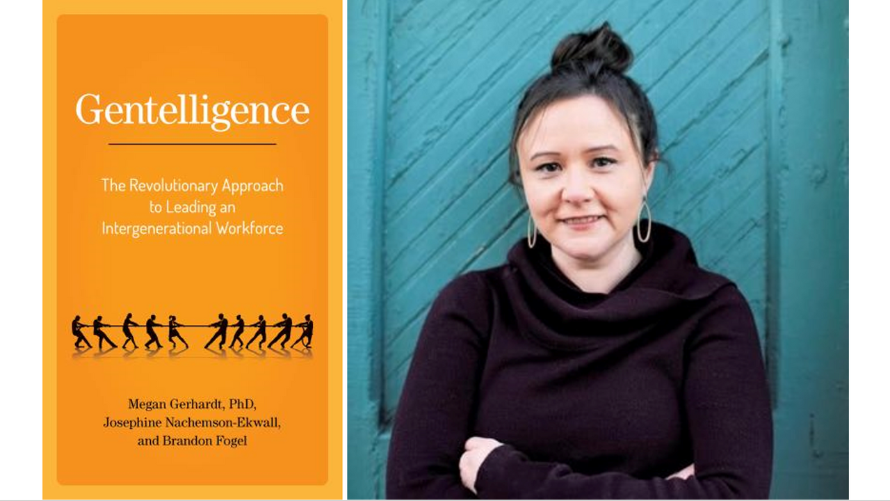 Image for Gentelligence Lunch and Learn with Dr. Megan Gerhardt webinar