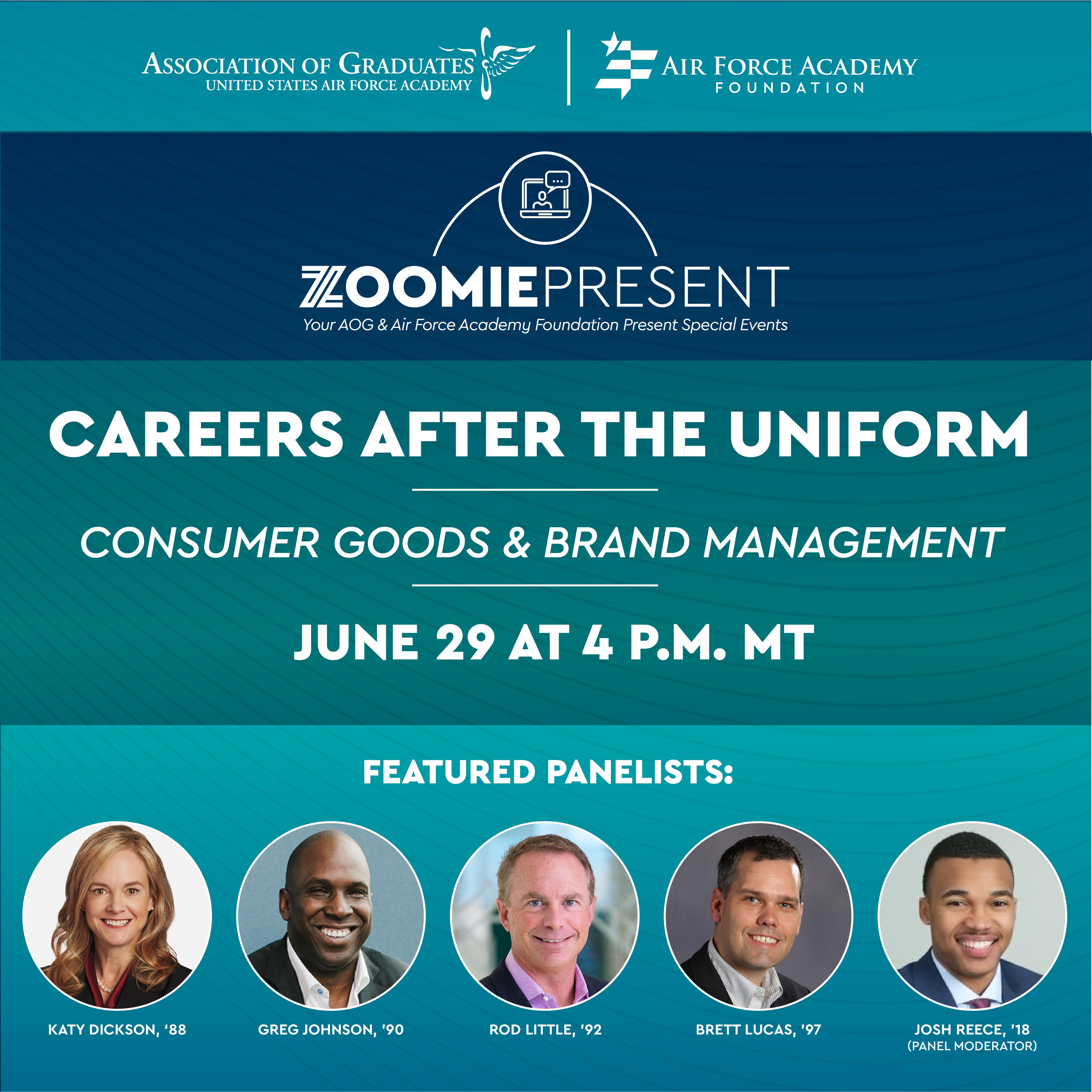 Image for Careers After the Uniform | Consumer Goods & Brand Management webinar