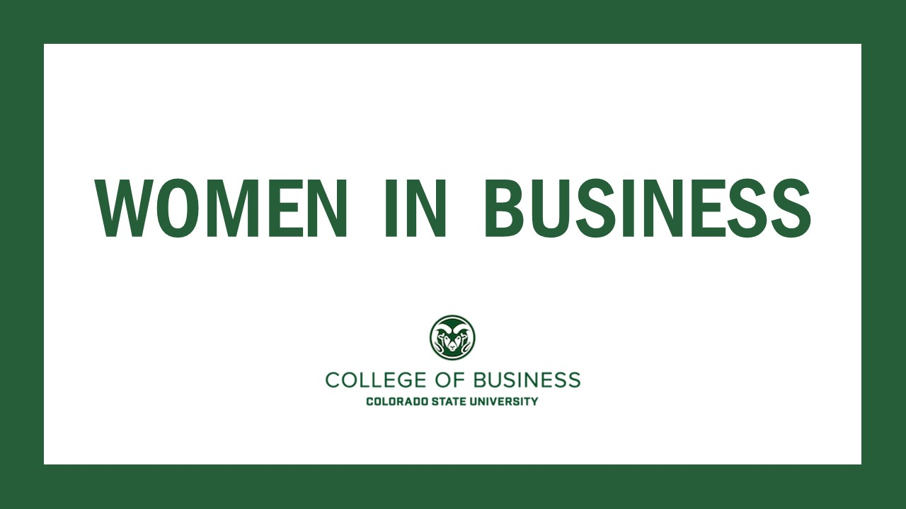 Image for Women in Business Panel, CSU College of Business webinar