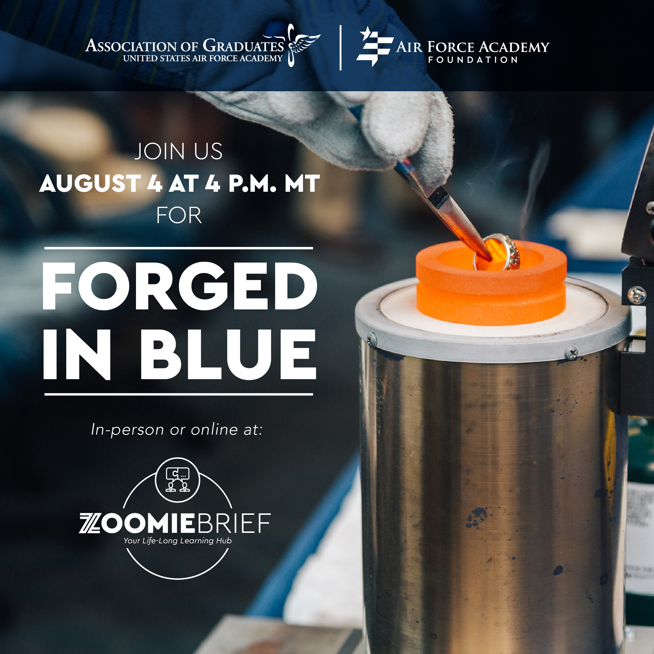Image for Forged in Blue webinar