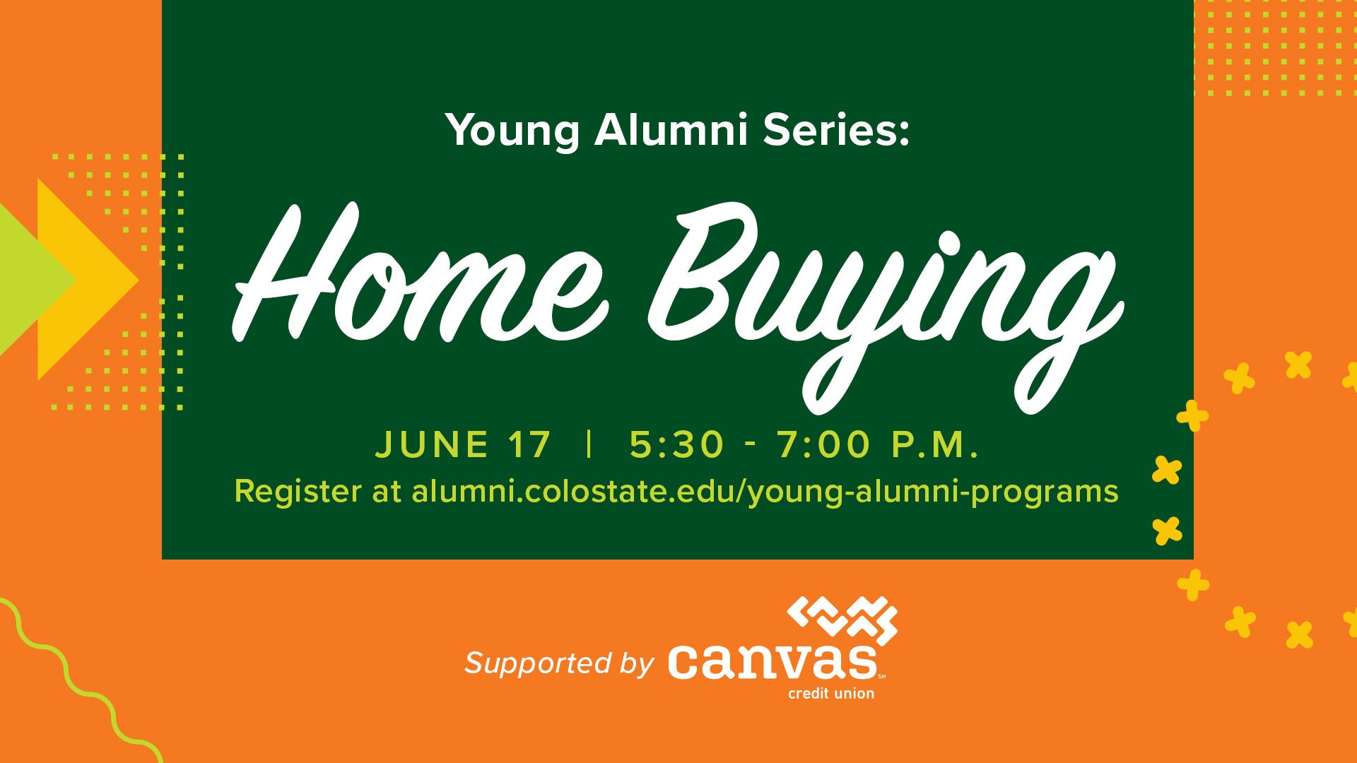 Image for Young Alumni Series: Home Buying webinar