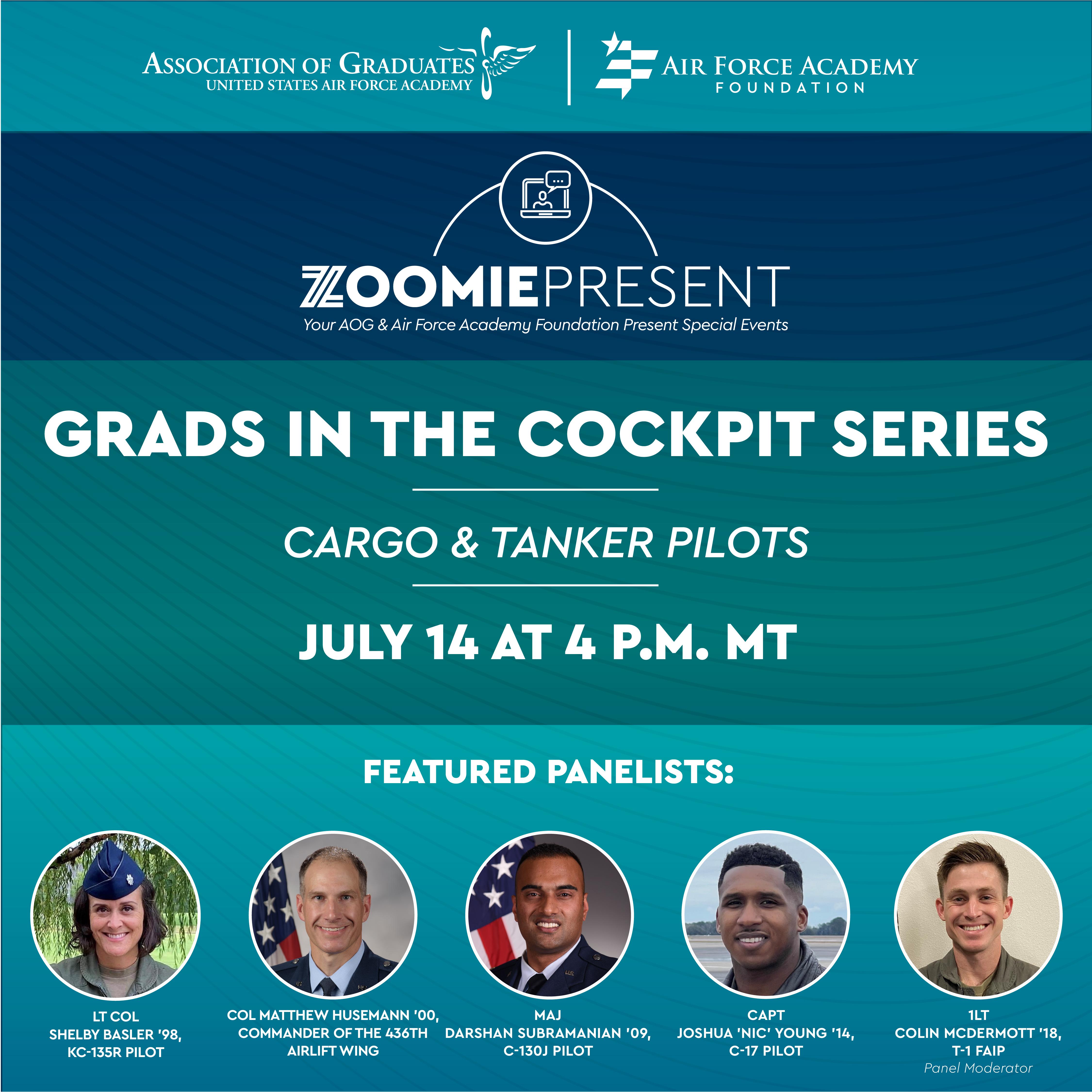 Image for Grads in the Cockpit | Cargo & Tanker Pilots webinar