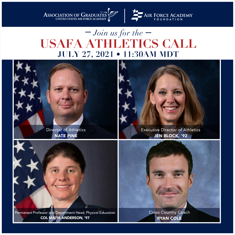 Image for USAFA Athletics Call webinar